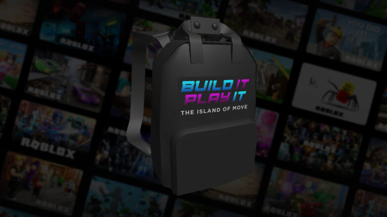 Roblox Build It Backpack back accessory