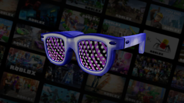 Roblox Speedy Shades face accessory