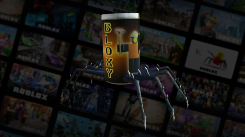 Roblox Spider Cola shoulder accessory