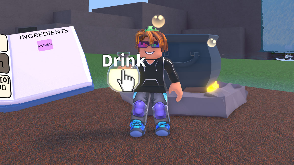 In potion how make to real life an invisibility Five Basic