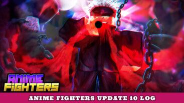 Anime Fighters Update 10 Log – Crimes Island!