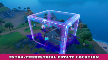 Where is Extra-terrestrial Estate in Fortnite