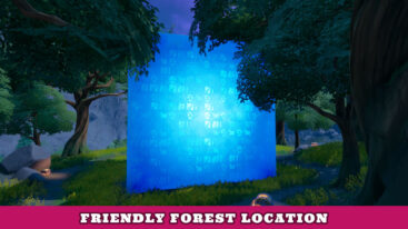 Where is Friendly Forest in Fortnite