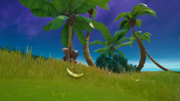 Where to find banana locations in Fortnite Season 8