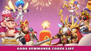 Gods Summoner Codes – Free Diamonds & Gold!