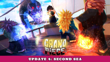 Grand Piece Online Update 4 Log – GPO Second Sea Patch!