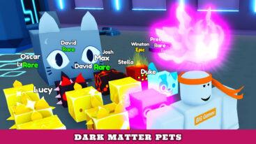How to get Dark Matter Pets in Pet Simulator X