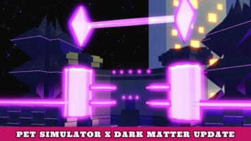 Pet Simulator X Space Update – Tech World, Dark Matter Pets