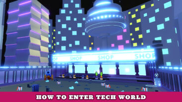 How to get to Tech World in Pet Simulator X