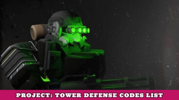 Project Tower Defense Codes
