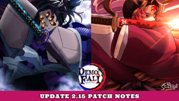 Demonfall Update Log: 2.15 Patch Notes