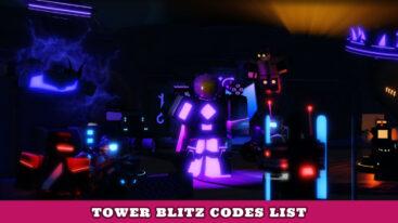 Tower Blitz Codes – Major Update!