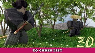 Roblox Zo Codes – Kill Effects Update