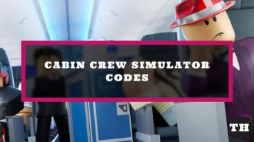 Cabin Crew Simulator Codes – Released!