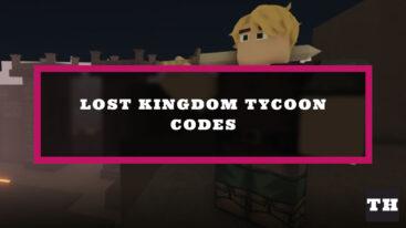 Lost Kingdom Tycoon Codes – Halloween Update!