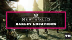 Where to Find Barley in New World (Locations & Recipes)