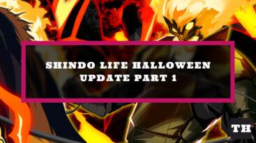 Shindo Life Halloween P1 Update Log
