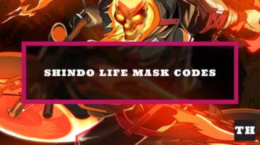 Shindo Life Mask Codes – New IDs!